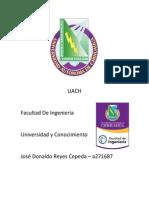 Fumadores en La Facultad de Ingenieria de La Universidad Autonoma de Chihuahua (UACH)