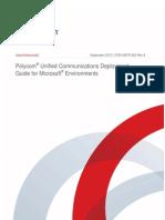Polycom UC Microsoft Deployment W8