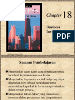 Chapter 18 Business Investment
