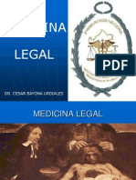 Clase 1 Medicina Legal. Historia e Importancia