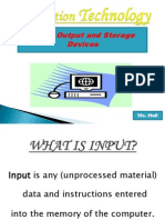 Input-output-And Storage Devices Ppt