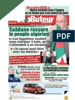 LE BUTEUR PDF du 08/11/2009