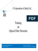 Training on Optical Fiber Network