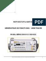 Notice Utilisation DG1012-DG1022