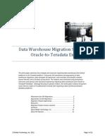Teradata Migration