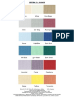 CERTEX FR - Blinds (Colours)