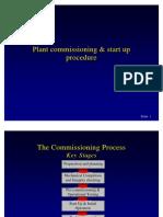 Plant Commissioning Start Up Procedure