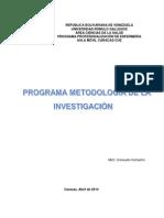 Planificación Metodología de La Investigación