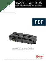 Xerox Phaser 3140 3160 Reman Eng