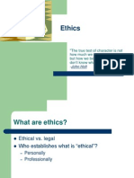 XII Ethics