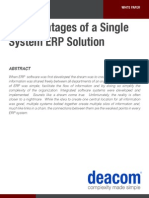 10 Advantages of a Single System ERP Solution 147324