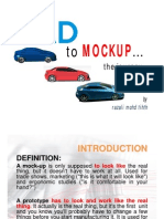 Design-Definition of Mockup