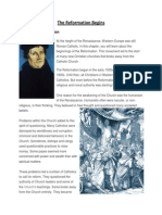 the reformation begins text