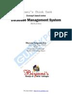 Mcs023 DBMS
