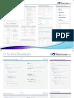 CSharp for Java Developers - Cheat Sheet