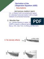 2 Lesson2 Advection Dispersion Eq