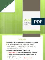 Modals Presentation