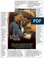 In Love and War - 1980s Poster