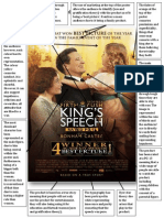 The Kings Speech - 2010 Poster