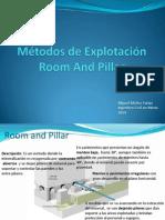 5.-Métodos de Explotación Room and Pillar