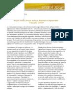 Perspectives Economiques Du FMI Pour 2015 (Mise à Jour)