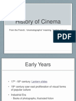 early cinema power point
