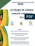 Catálogo Das Formações 2014