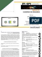 Caderno de Resumos 2013