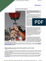 Interesting Modi Article