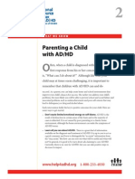 WWK02 Parenting a Child With ADHD