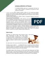 Cronología Prehistórica de Panamá