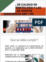 Control Calidad Banco
