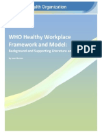 Healthy Workplace Framework