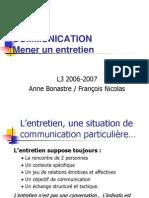Communication Mener Un Entretien