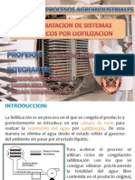 Deshidratacion de Sistemas Biologicos Por Liofilizacion (1)