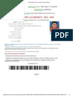 Consulta de Matricula - Secretaria General ULEAM