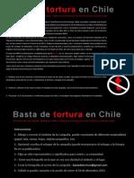 Basta de Tortura en Chile