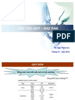 Xuc Tac Acidbazo