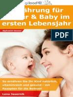 Ernährung für Mutter und Baby im ersten Lebensjahr - Leseprobe