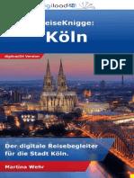 ReiseKnigge Köln - Leseprobe