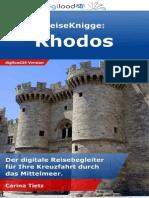 ReiseKnigge Rhodos - Leseprobe