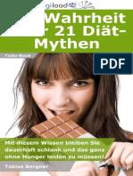 Die Wahrheit über 21 Diät-Mythen - Leseprobe