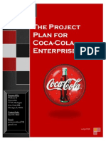 Coca Cola Project Plan