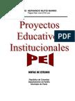 Proyectos Educativos Institucionales -PEI