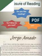 Inglês - Terceiro Ano - Books and Literature
