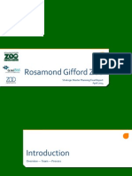 Master Plan for Rosamond Gifford Zoo