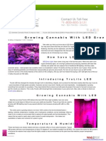 How to Grow Cannabis With LED Grow Lights - TruLite LED Review