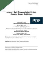 Elevator Design Guidelines