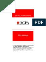 Microbiology Trainee Handbook 2013