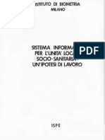Information System Model for a Local Health Unit and for a Regional Health System.